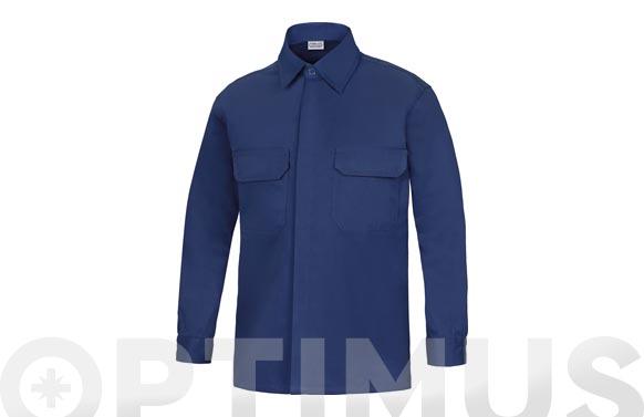 Camisa manga larga ignifuga + antiestatica l3000 t 38 azul marino