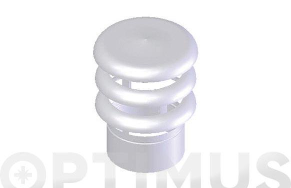 Deflector 3 aros x 110 alu-star esmaltado blanco