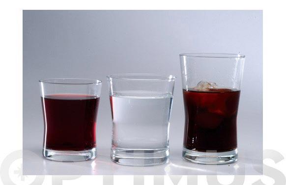 Vaso aura agua 3 pzs 33 cl