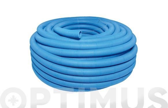 Tubo corrugado tufonplas azul 13 50 m