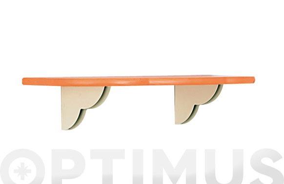 Estante kide naranja 80 cm