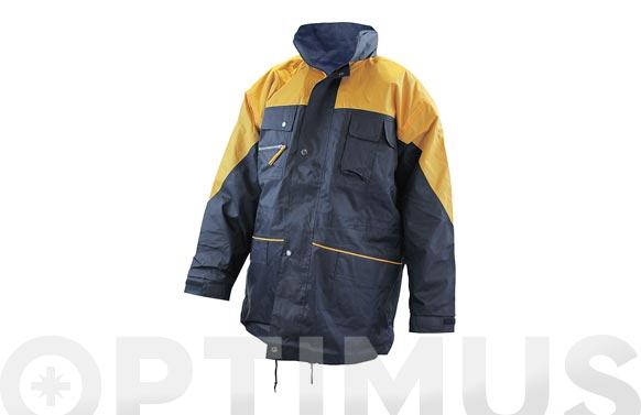Parka navy amarillo-azul t l