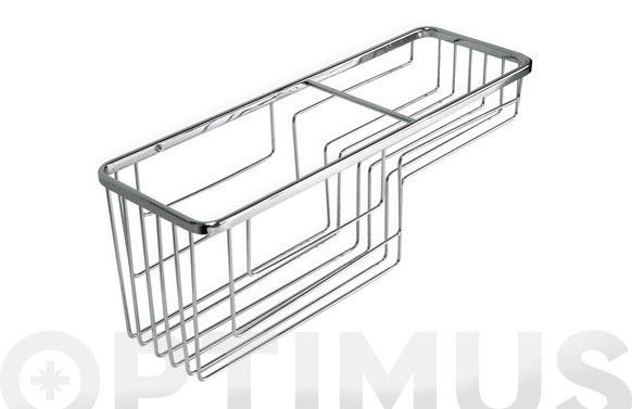 Cestillo baño rectangular 37 x 12 x 13 cm