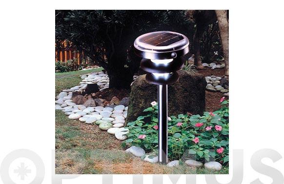 Lampara solar jardin d/presencia sensor