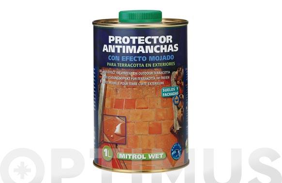 Protector antimanchas con acabado mojado mitrol wet 1l