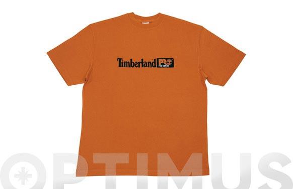 Camiseta timberland pro 306 naranja t m