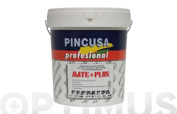 Pintura plastica profesional mate + plus 15 lt