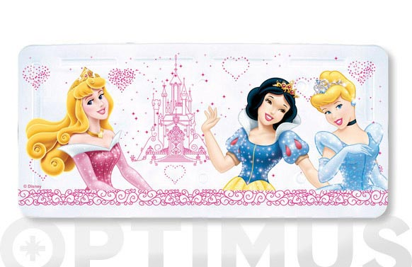 "Alfombra baño pvc ""princesas"" 35 x 75 cm"
