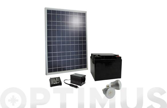 Kit solar completo sunpower 40