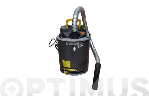 Aspirador / soplador ceniza y pellet 800 w, 14 l funcion para carga / descarga de la estufa