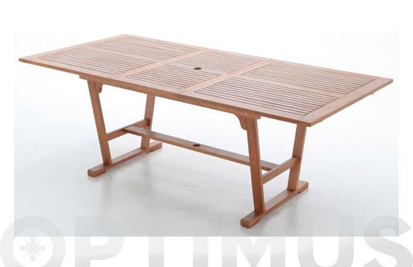 Mesa extensible acacia fsc 160/210x100cm