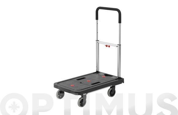 Carro plataforma super plegable 120 kg