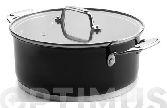 Bateria cocina 5 piezas negra