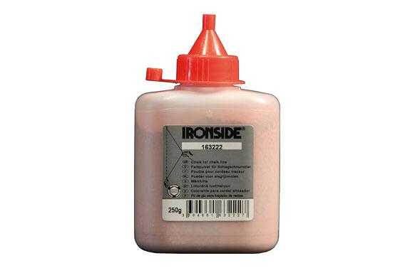Azulete, polvo rojo para tiralineas bote 250 gr