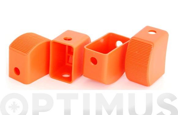 Taco escalera aluminio kylate (juego 4 piezas)