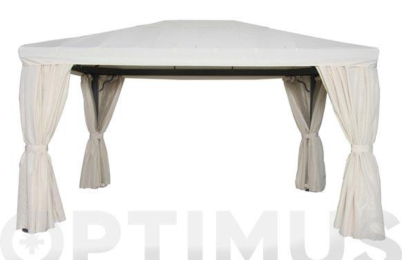 Cortina recambio (jgo.4u) p/pergola alum.3x4 m crudo para pergola 9671389