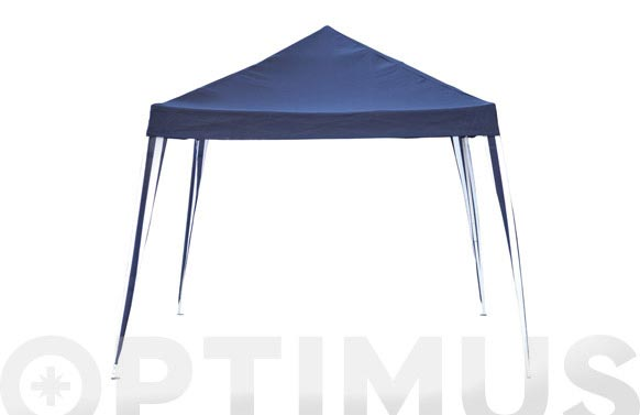 Carpa plegable metalica 3x3 m azul