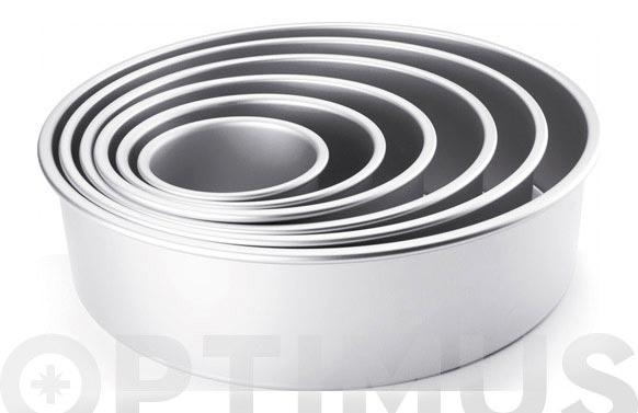 Molde aluminio extra alto 15 cm