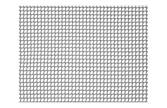 Malla cuadranet (malla 5x5mm) 300gr/m2 1 x 25 m gris