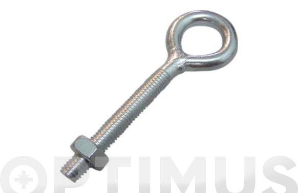 Hembrilla cerrada c/tca zinc m-3x30 mm