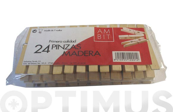 Pinza madera export 24u ambit exp 131/am