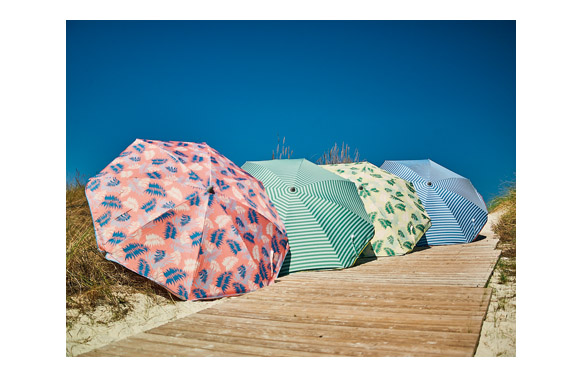 Parasol sombrilla playa aluminio ø 180 cm upf50+