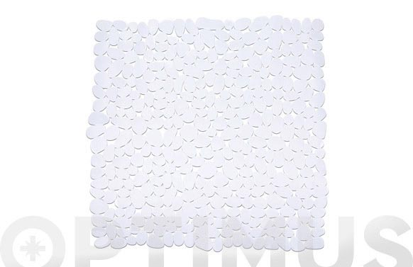 Alfombra baño paradise blanco 71 x 36 cm