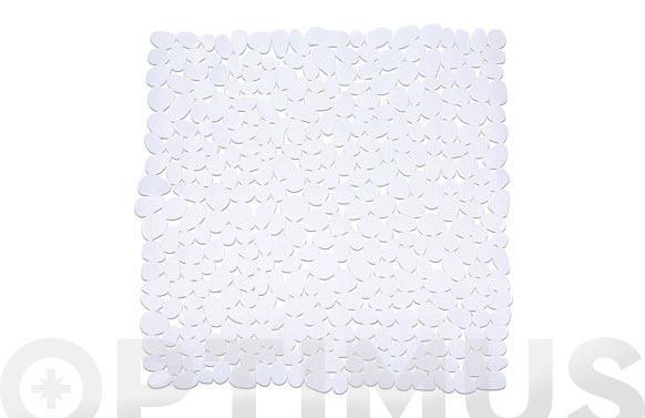 Alfombra baño paradise blanco 54 x 54 cm