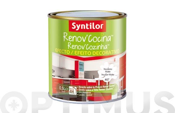 Barniz efecto decorativo renov'cocina mate-0,5l
