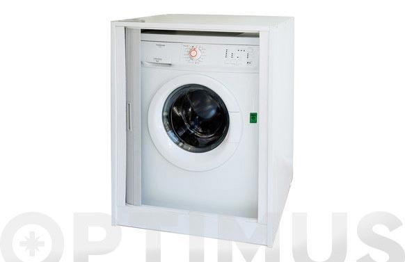 Mueble protector lavadora puerta corredera