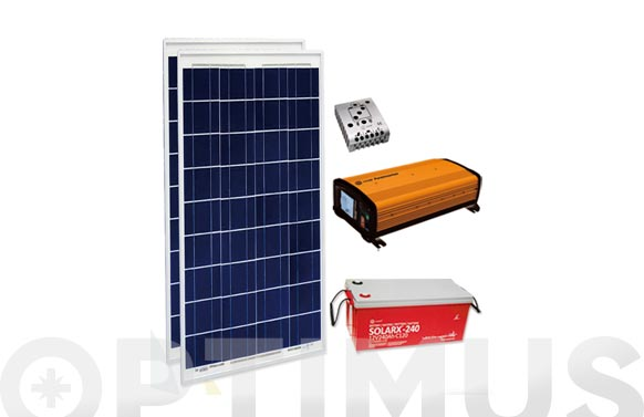 Pack solar ebox10001p 200ah con bateria solarx