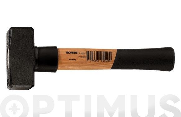 Maceta mango madera 1000 gr. c/collar de seguridad salva mango