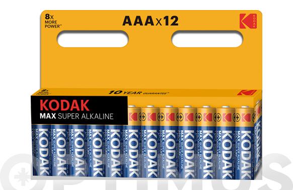 Pila alcalina max power lr03 bl12-aaa