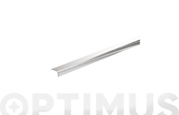 Perfil angulo acero inox a304 2,6 m 25 x 25 x 1 mm