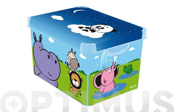 Caja infantil deco iberia 20l happyanimals