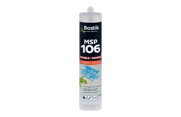 Adhesivo msp polimero transparente 290 ml