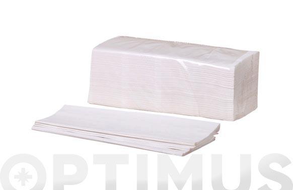 Toalla de mano papel plegado v 2 capas 196 servicios