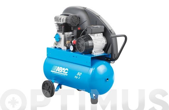 Compresor correas con aceite 2 cv a 29-50 cm2