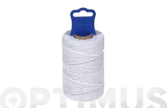 Hilo algodon cableado uso alimentario ø 1,8 mm 50 mt blanco