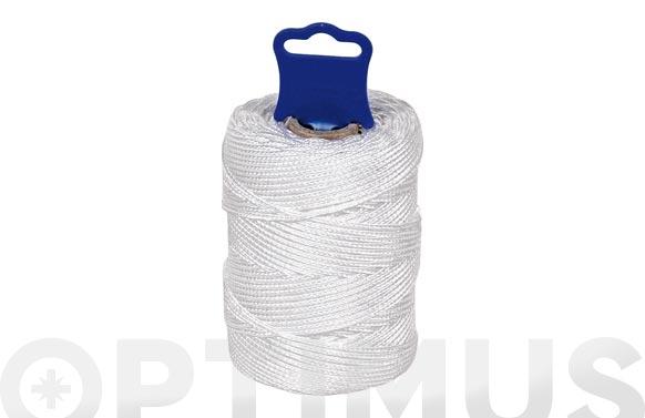 Hilo replanteo polipropileno trenzado ø 1,8 mm 50 mt blanco