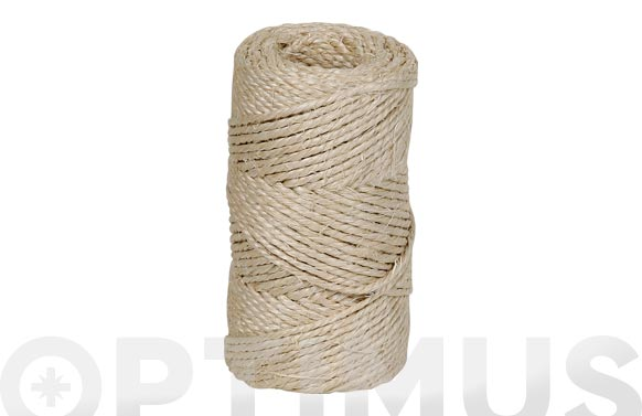 Hilo sisal torcido 3/4 a 3 cabos ø 3,5 mm 750 grs