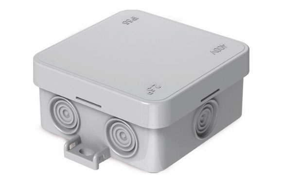Caja mini estanca ip55 75 x 75 mm