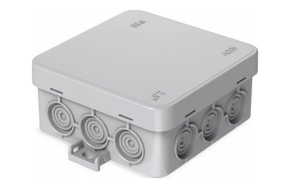Caja mini estanca ip55 85 x 85 mm