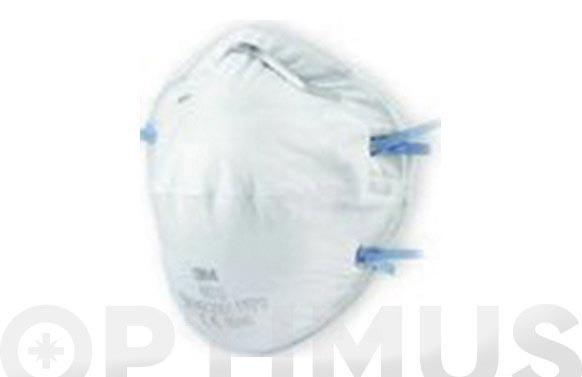Mascarilla proteccion ffp2 8810 clasica moldeada nr