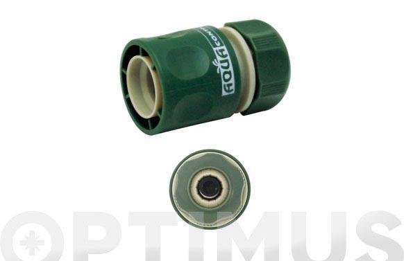 Conector rápido c/aquastop-gr 12/15mm