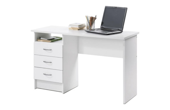 Mesa estudio function blanco 120 x 48 cm