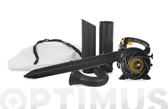 Aspirador soplador triturador gasolina 0.75kw 25cc gbv 345