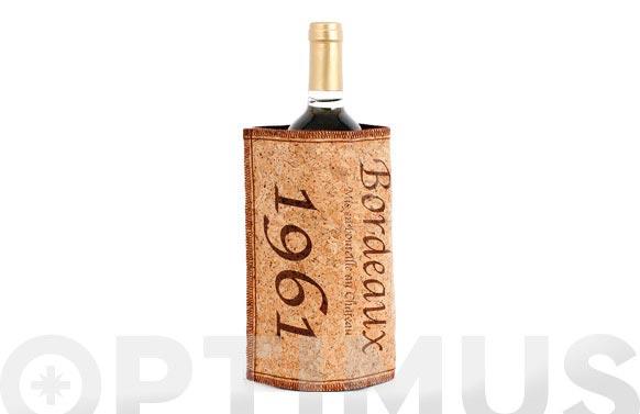 Funda enfriadora vino corcho cork