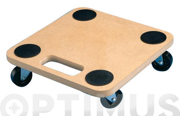 Base rodante cuadrada 29x29 cm hasta 120kg