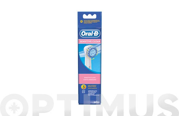 Cepillo dental recambio oral-b sensi ultrathin
